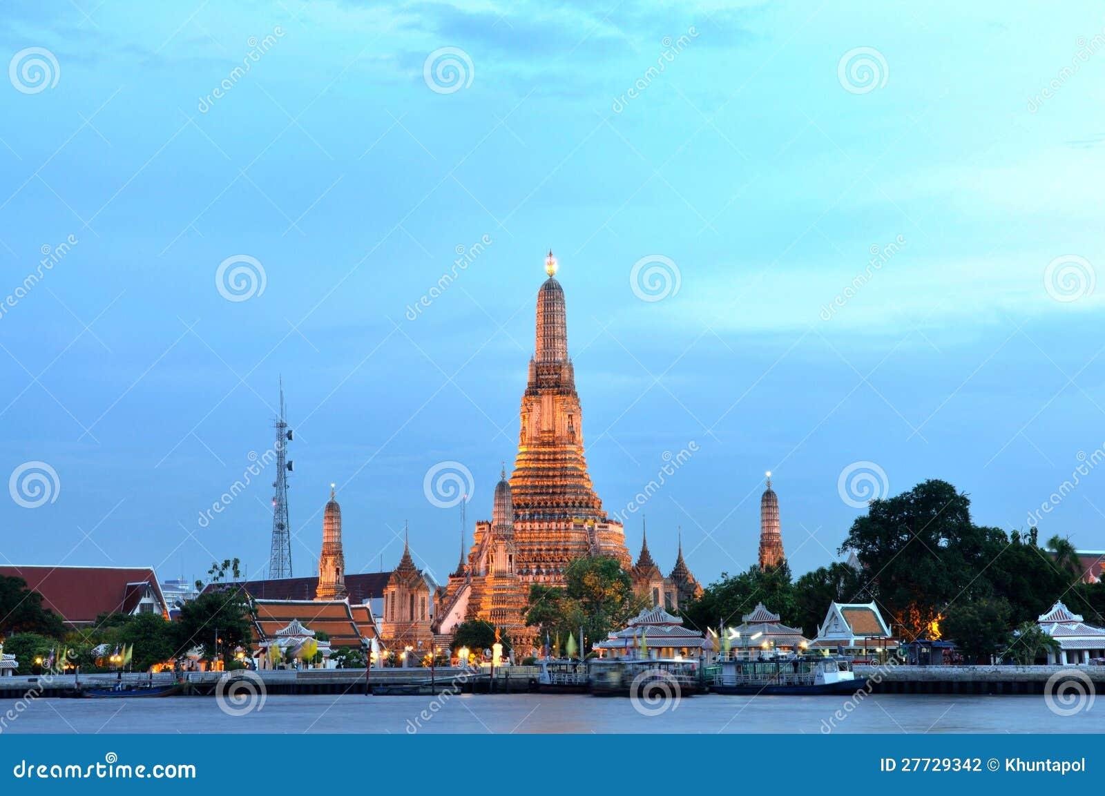 Wat Arun, der alte Tempel von Bangkok