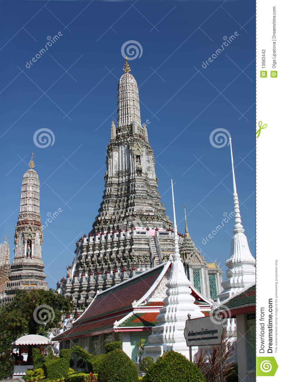 Wat Arun (Temple Of The Dawn) Stock Photography - Image ...