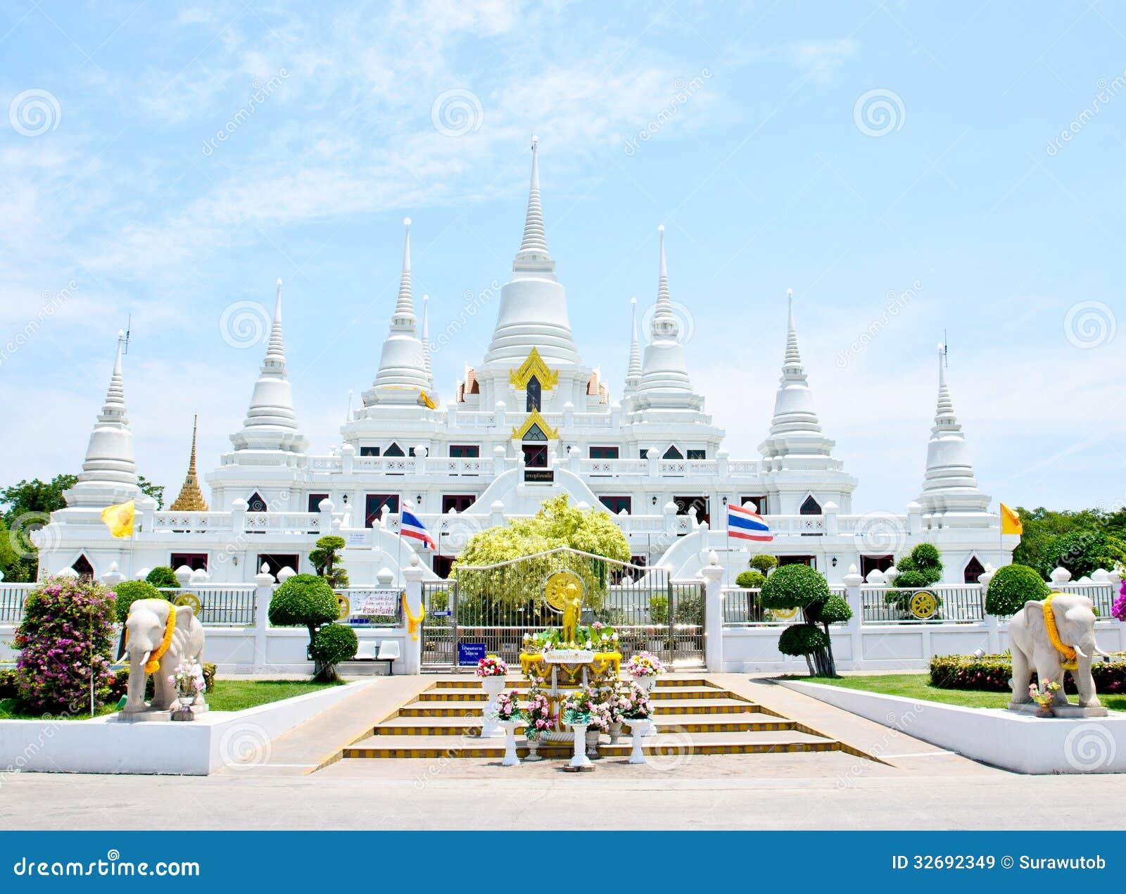 Samut Prakan Thailand  City new picture : Wat Asokaram, Samut Prakan, Thailand Royalty Free Stock Images Image ...