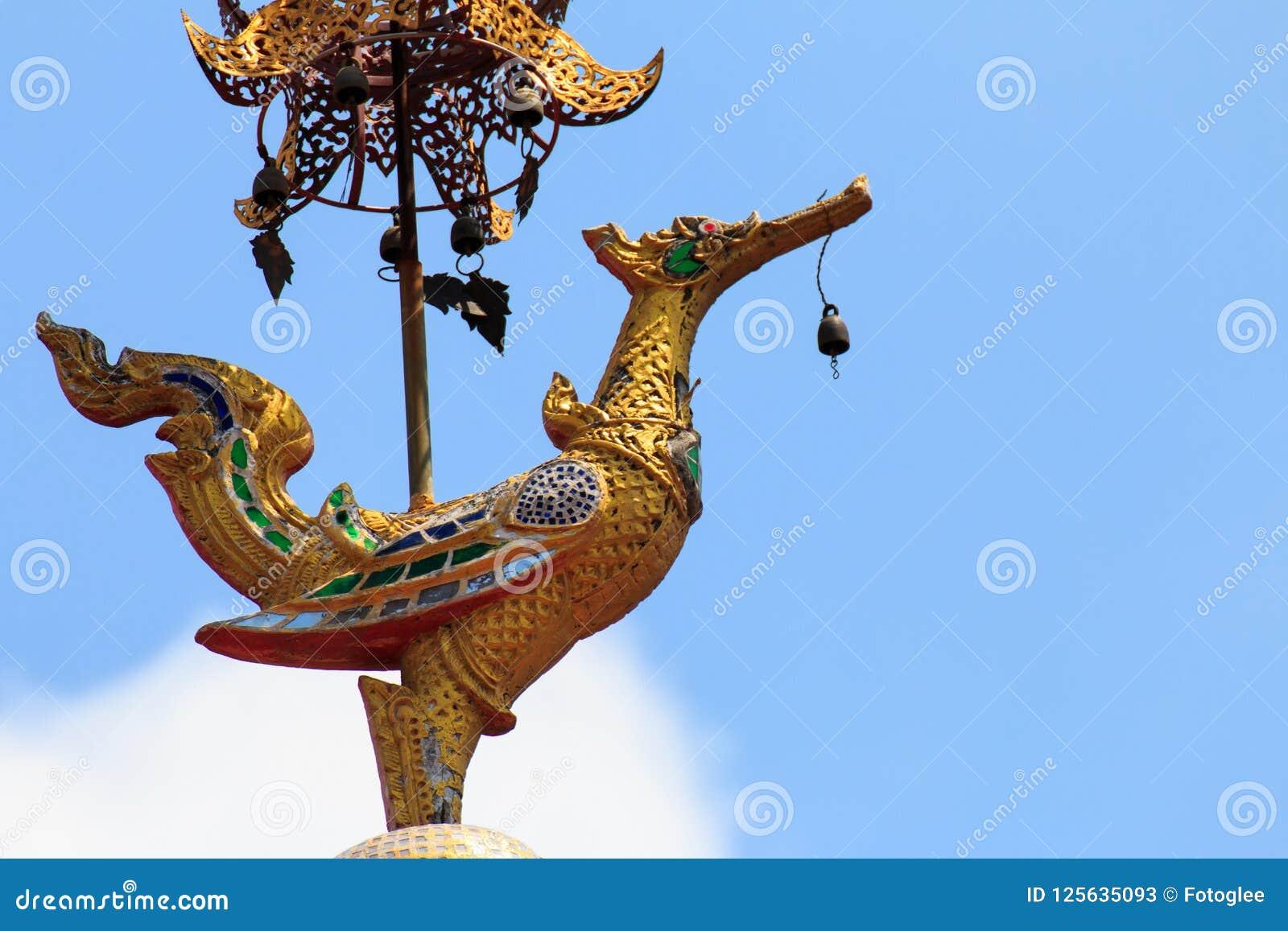 Wat Chai Mongkon - temple bouddhiste, Chiang Mai Thailand