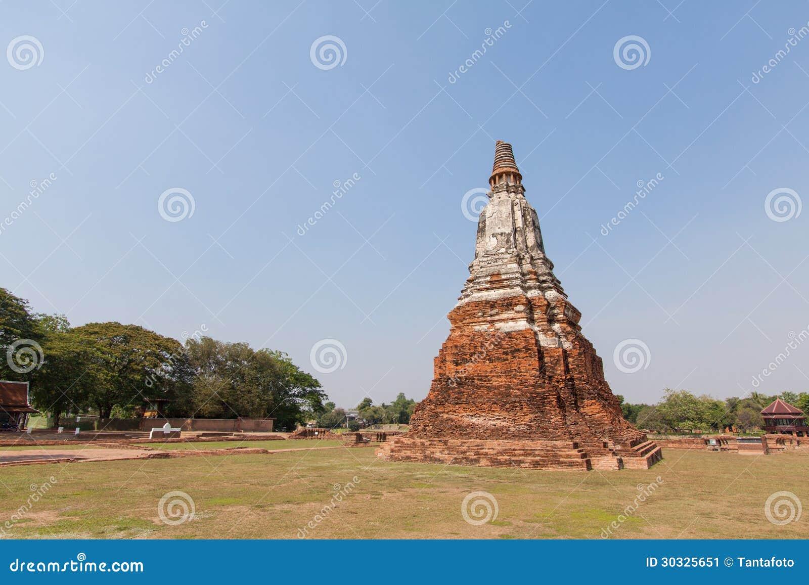Wat-chaiwatthanaram阿尤特拉利夫雷斯泰国
