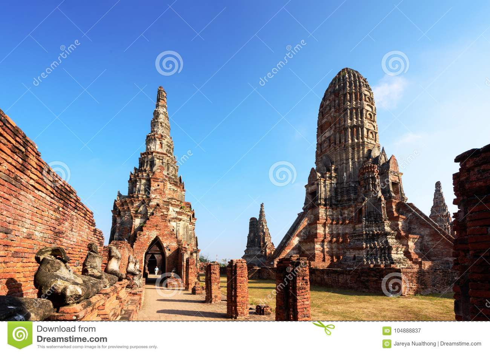 Wat Chaiwatthanaram, Buddyjska świątynia w mieście Ayutthaya