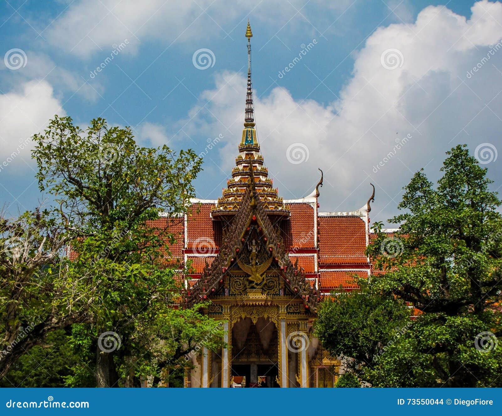 Wat Chalong, Пхукет, Таиланд