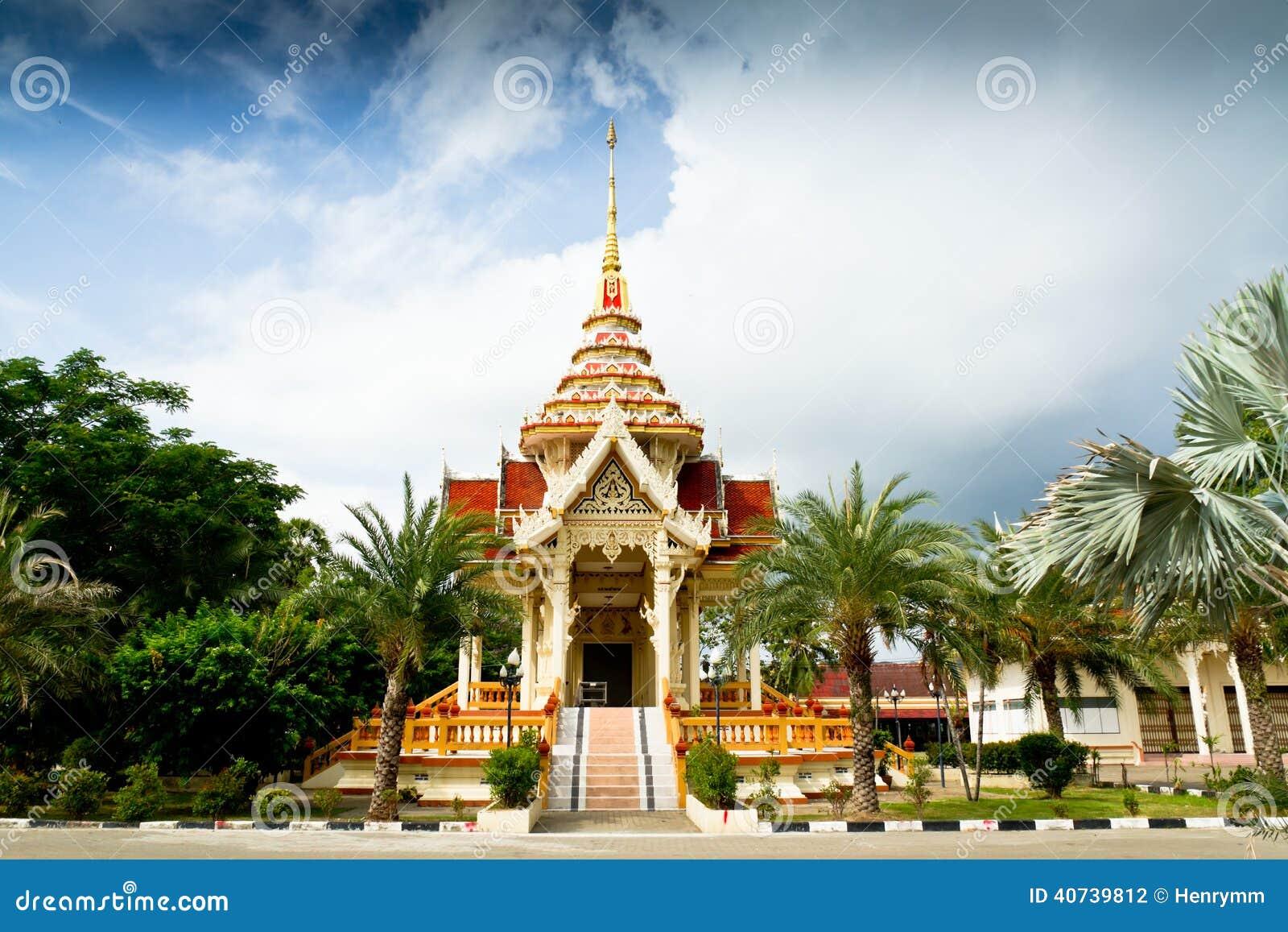Wat Chalong Temple, Phuket, Thailand.