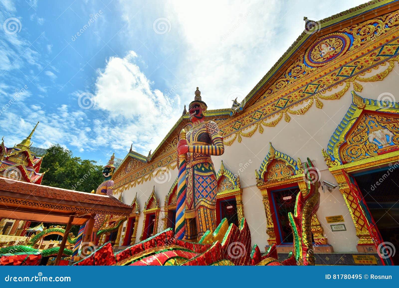 Wat Chayamangkalaram, Penang, Malasia