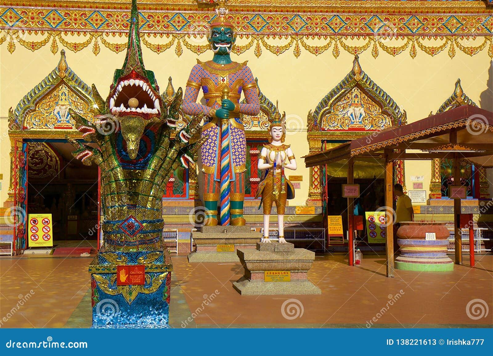 Wat Chayamangkalaram Thai Temple of the Reclining Buddha Penang