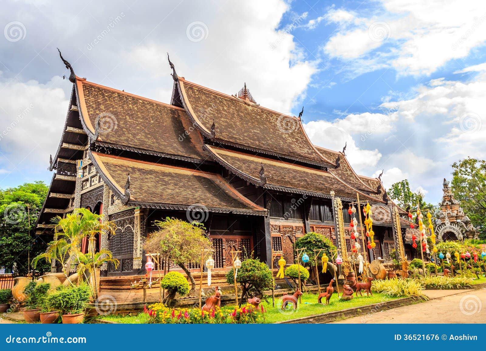 Wat chez Chiang Mai