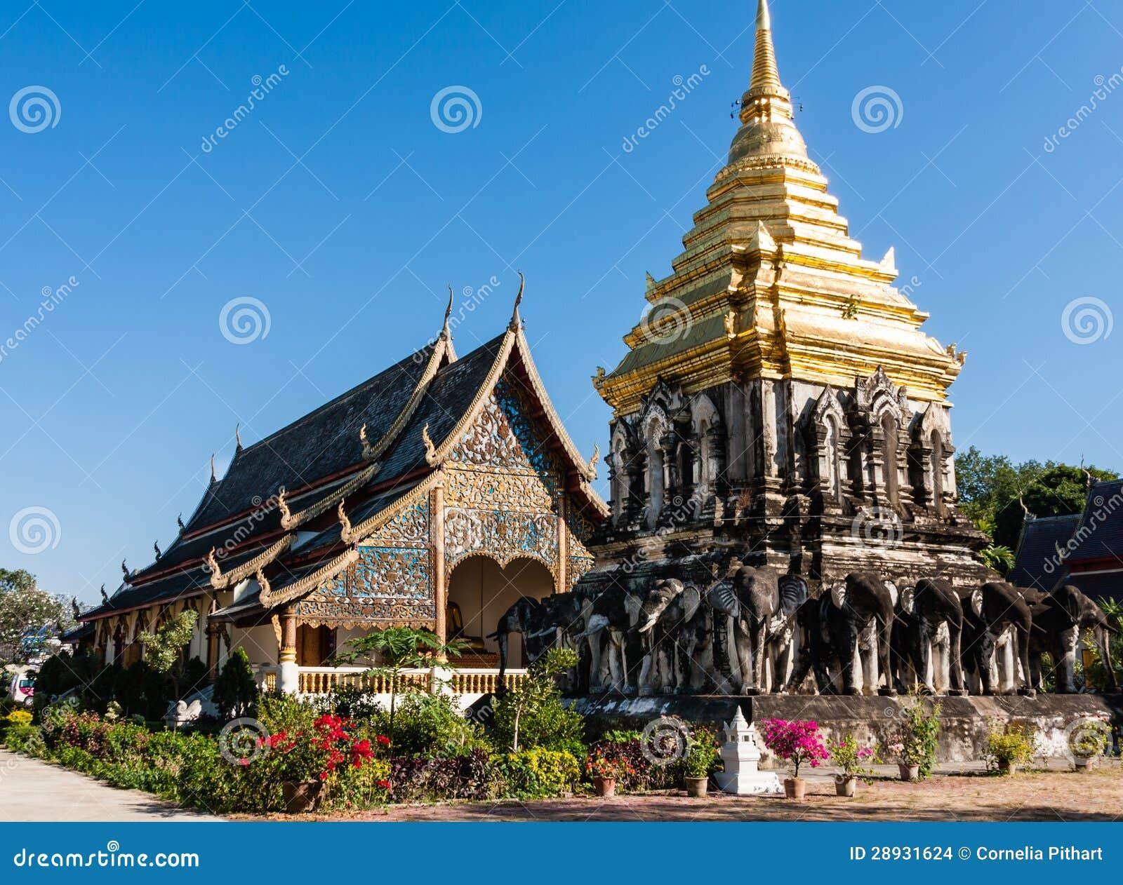 Wat Chiang Man, Chiang Mai, Thailand Stock Images - Image: 28931624