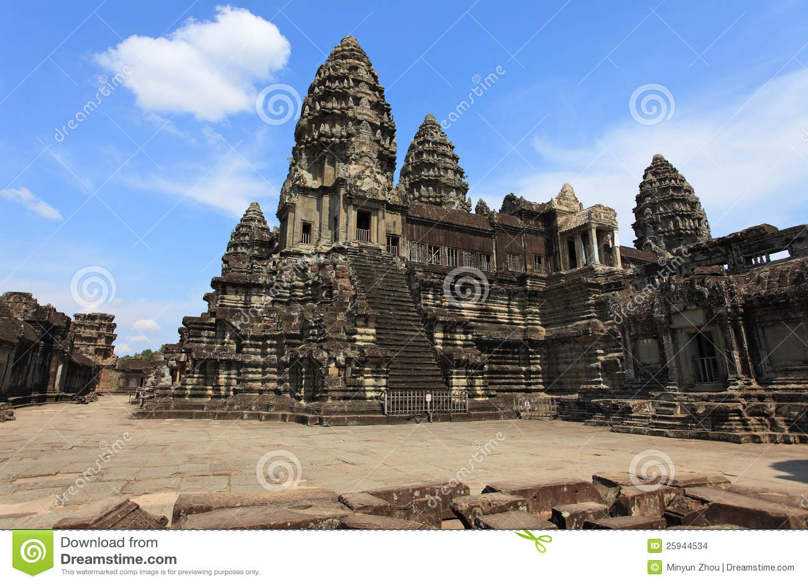 Wat de Angkor, Cambodia