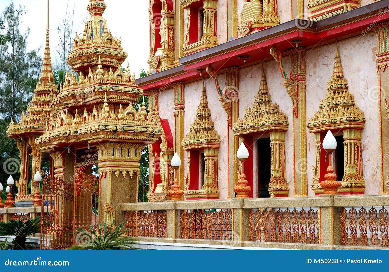 Wat de temple de chalong