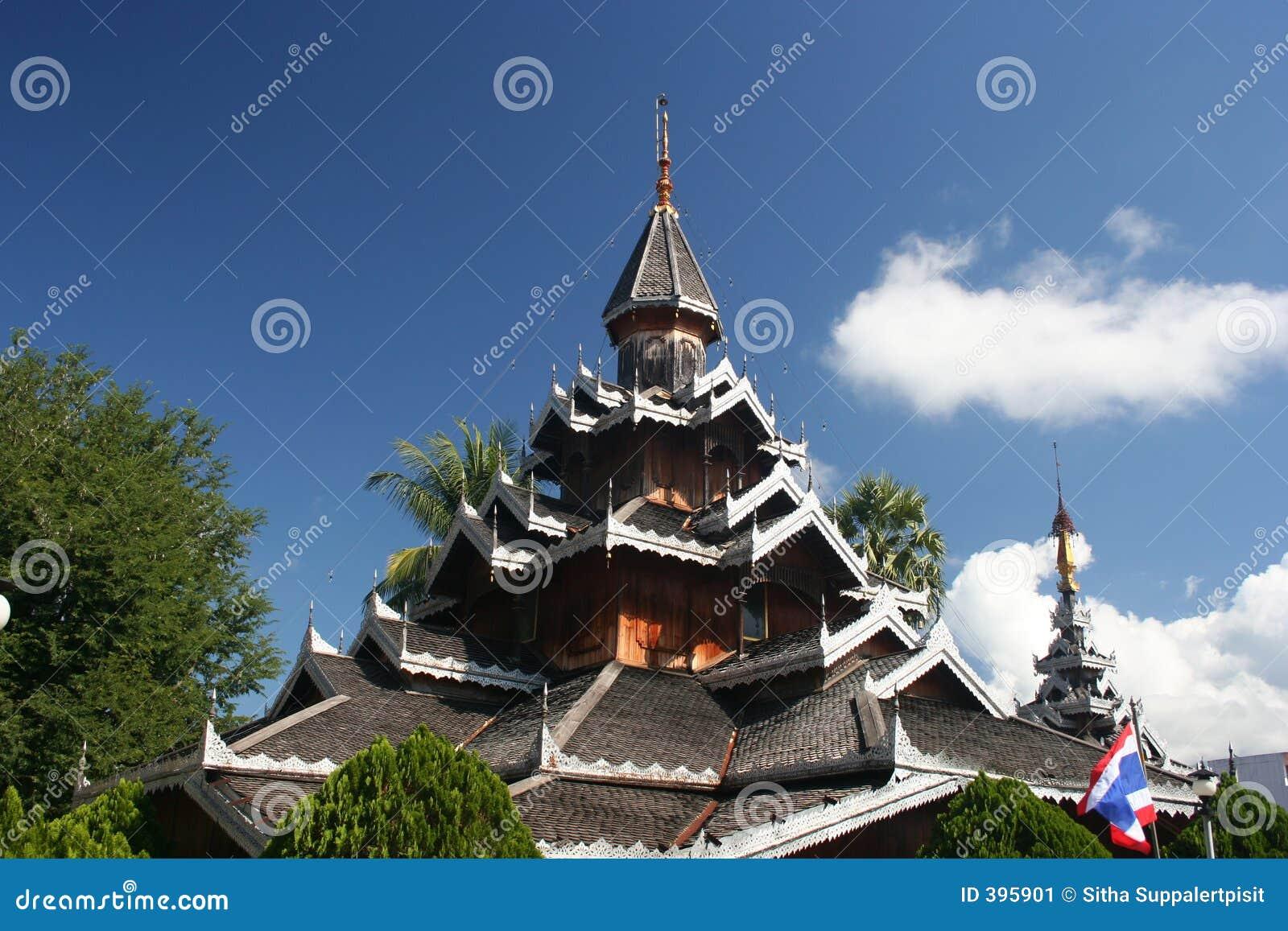 Wat Hua Wiang, Mae Hong Son, Thaïlande