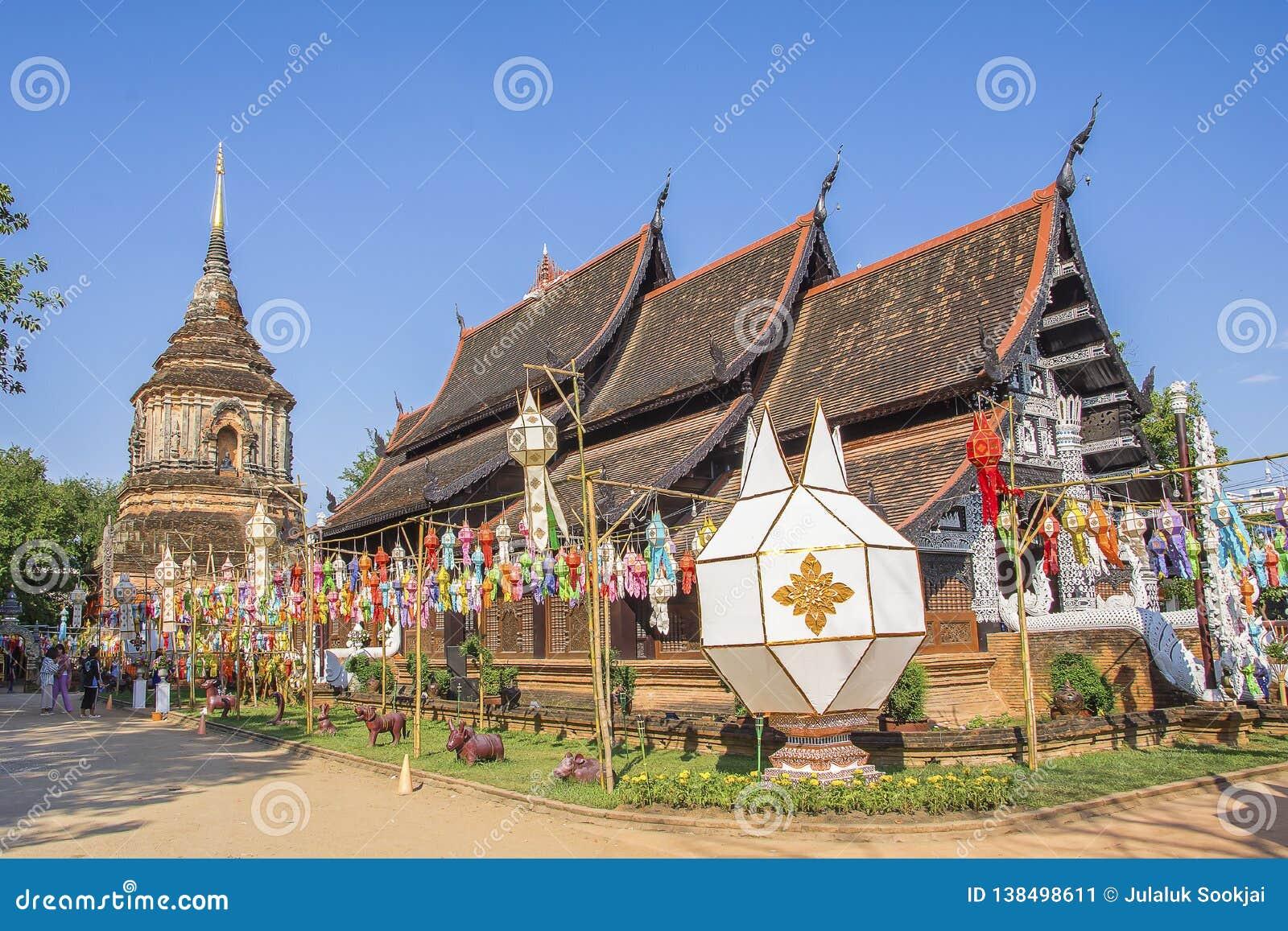 Wat Lok Molee Chiangmai, Thailand