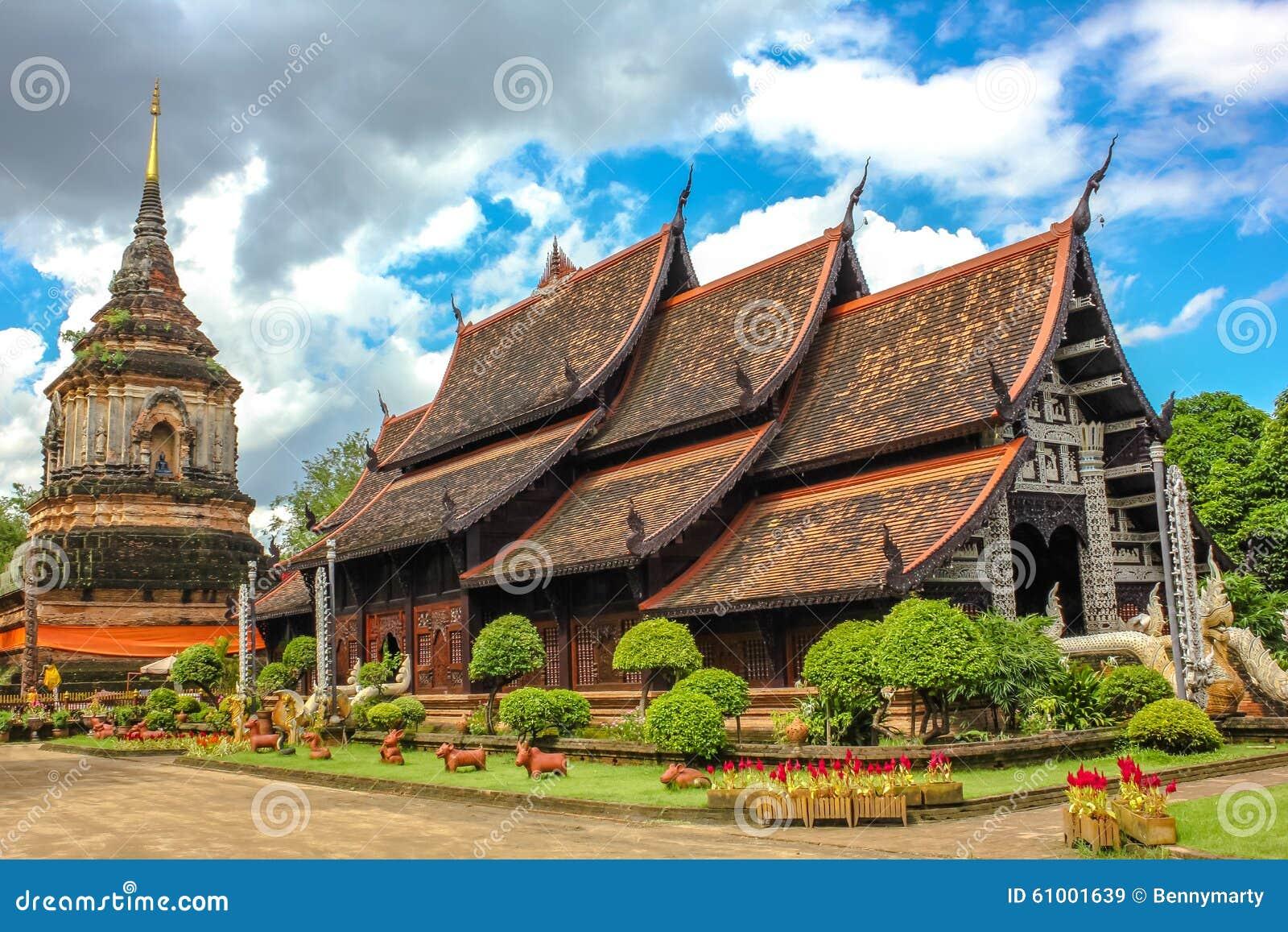 Wat Lok Molee i Chiang Mai