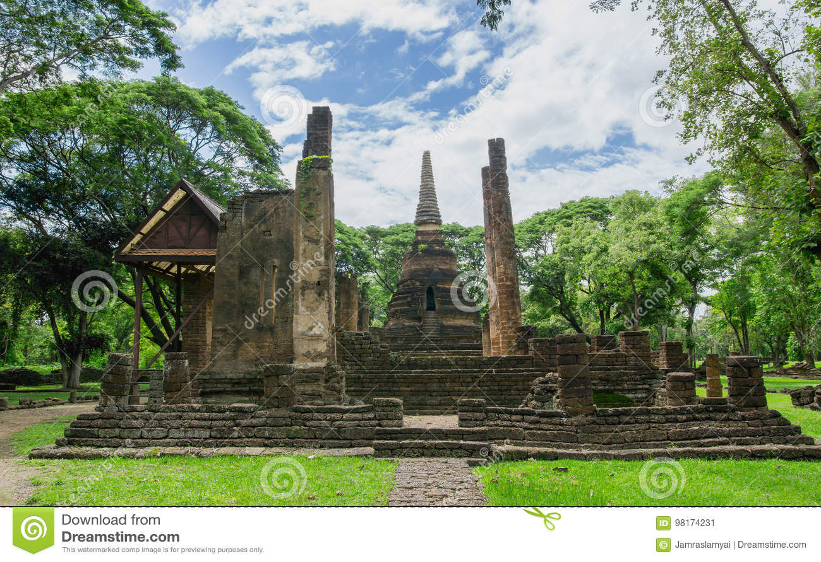 Wat Nang Phaya风景,