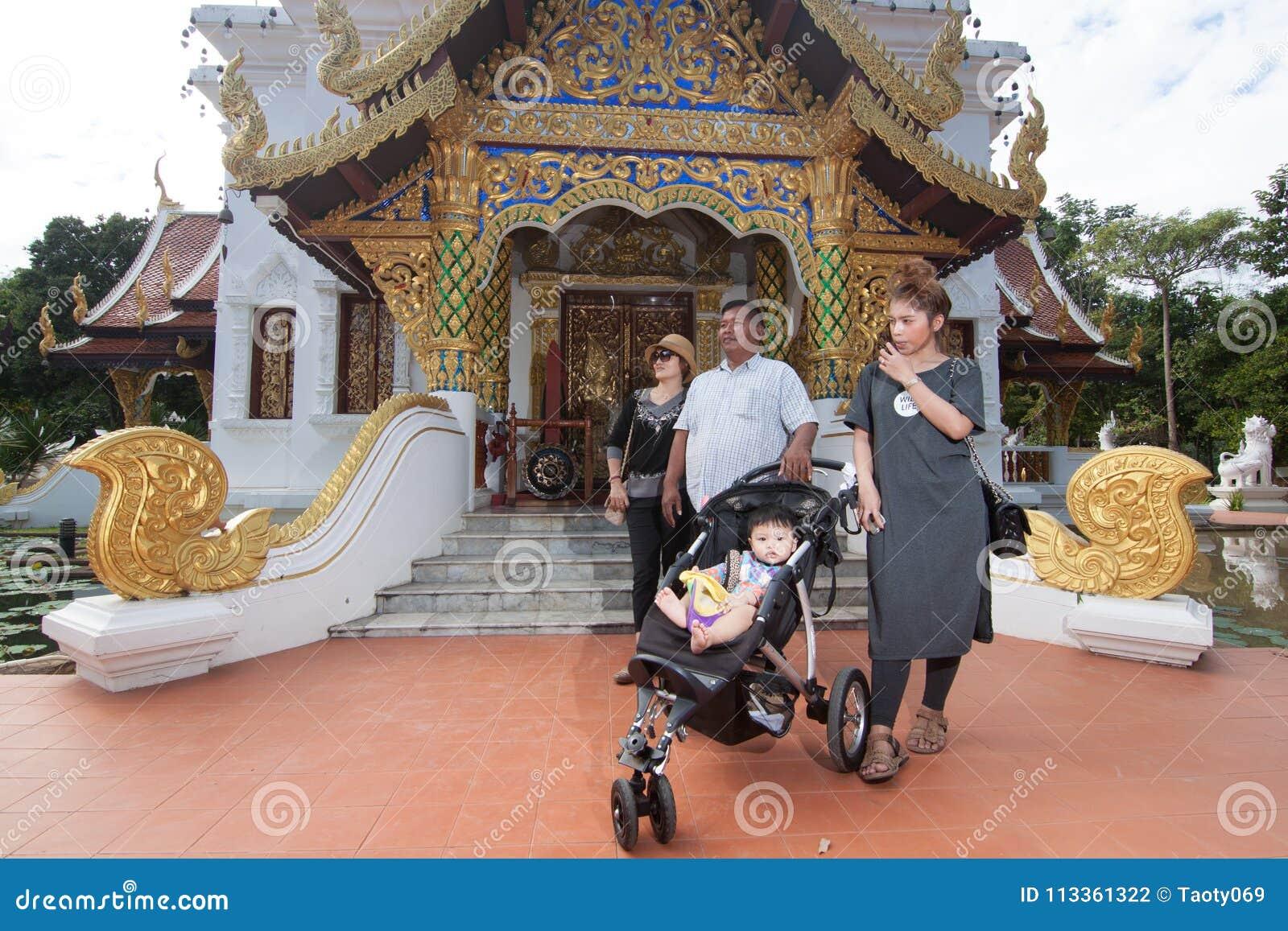 Wat Padarapirom i skogen