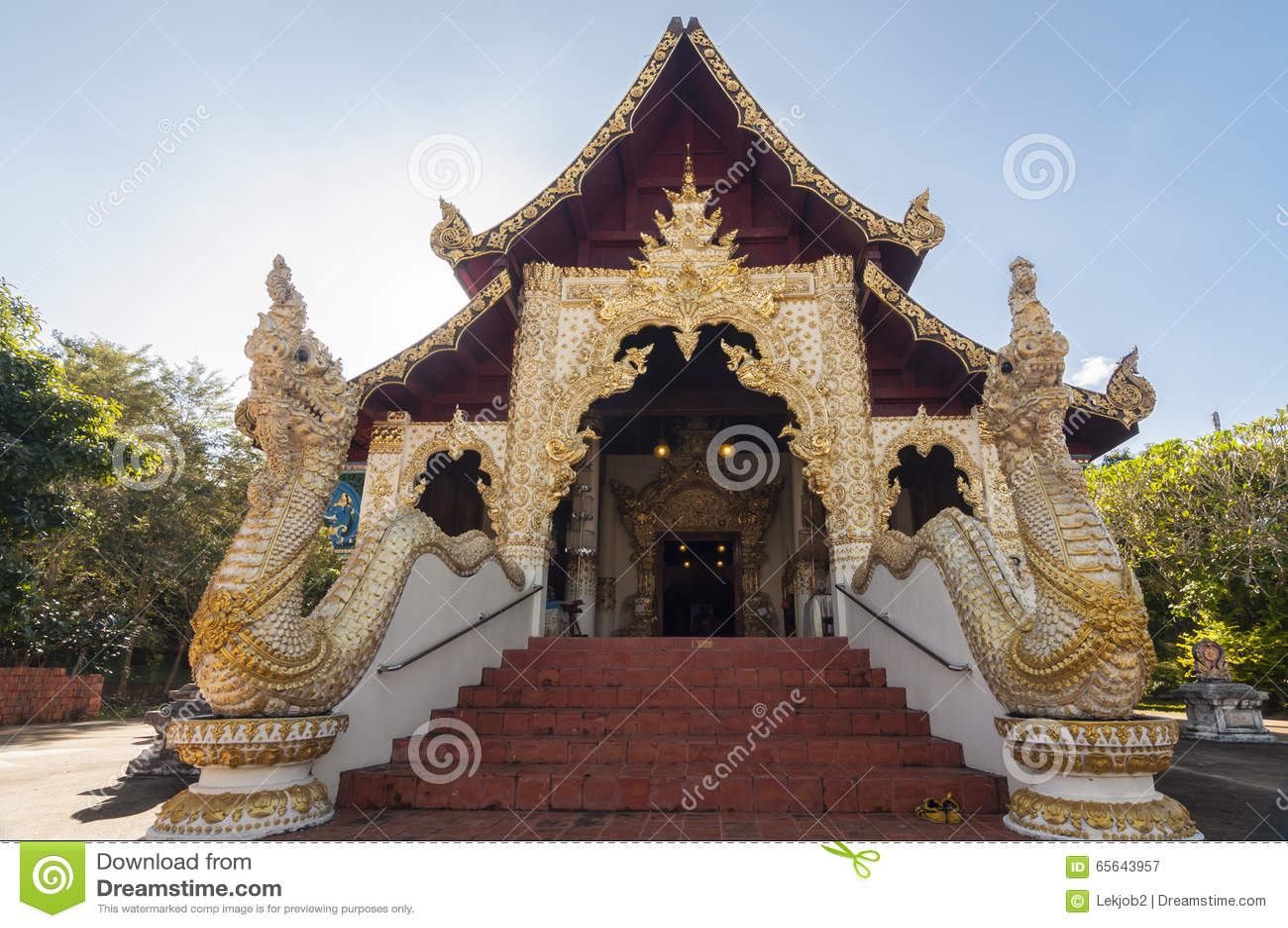 Wat Phaya Wat, Nan, Thaïlande