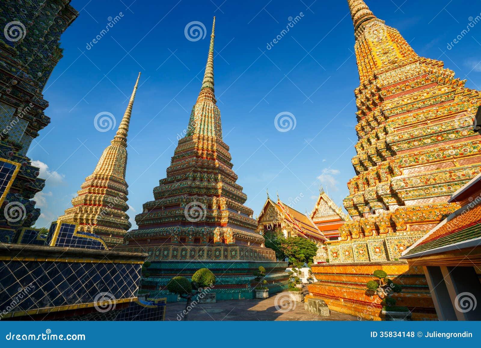Wat Pho στη Μπανγκόκ, Ταϊλάνδη