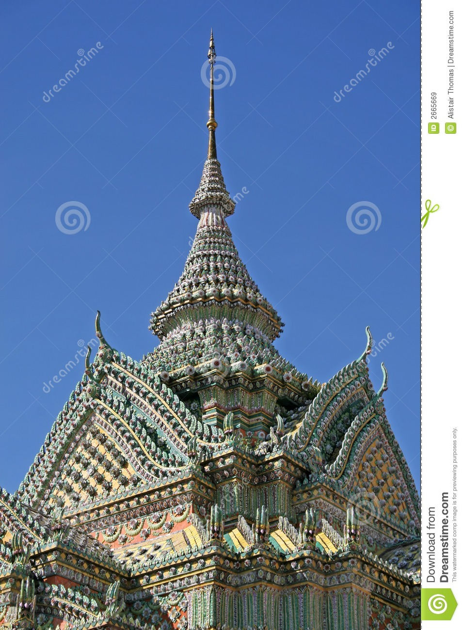 Wat pho architecture royalty free stock images image for Wat architecture