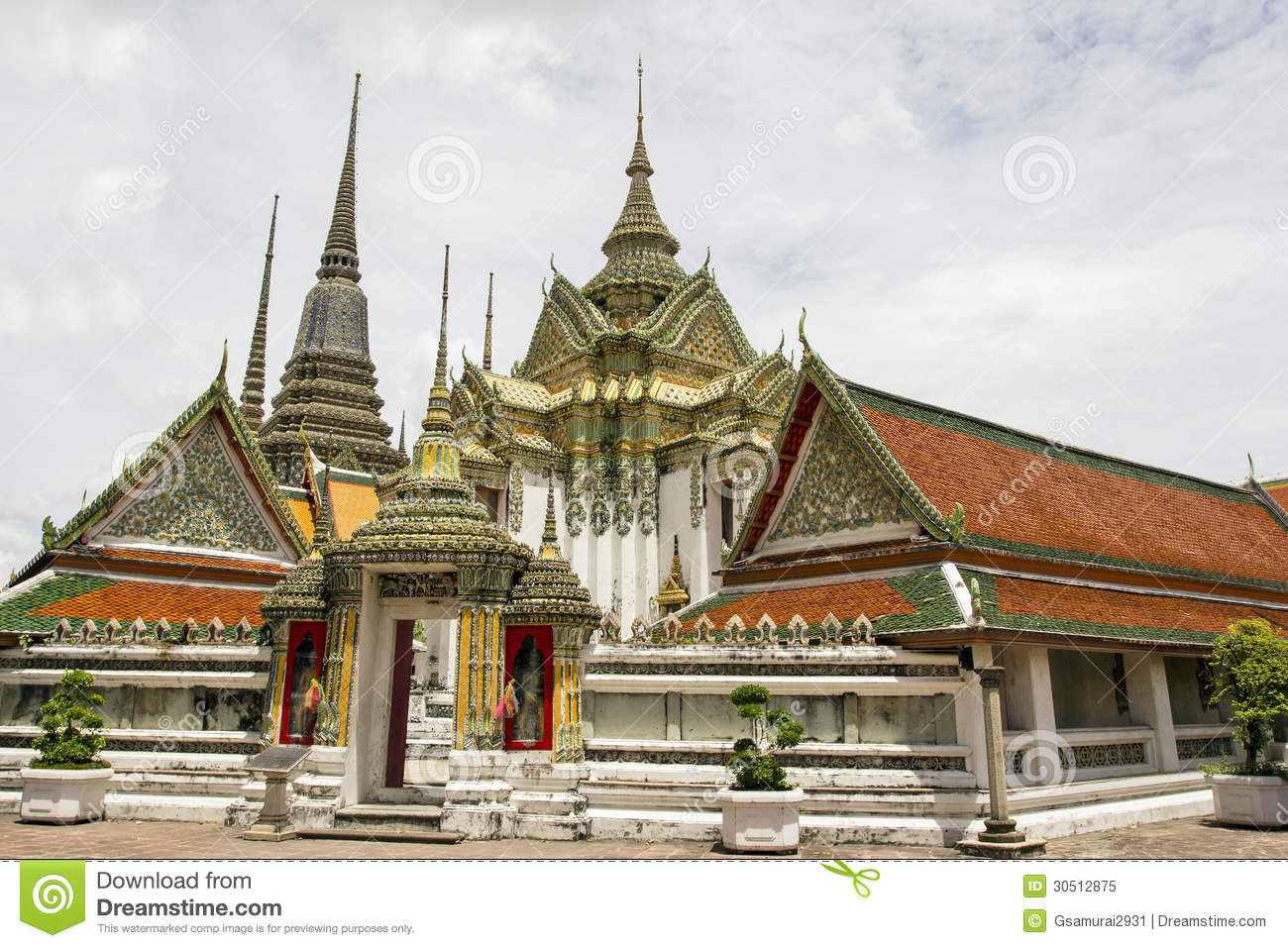 Wat Pho Stock Image  Image Of Antique  Sacred  Ancient