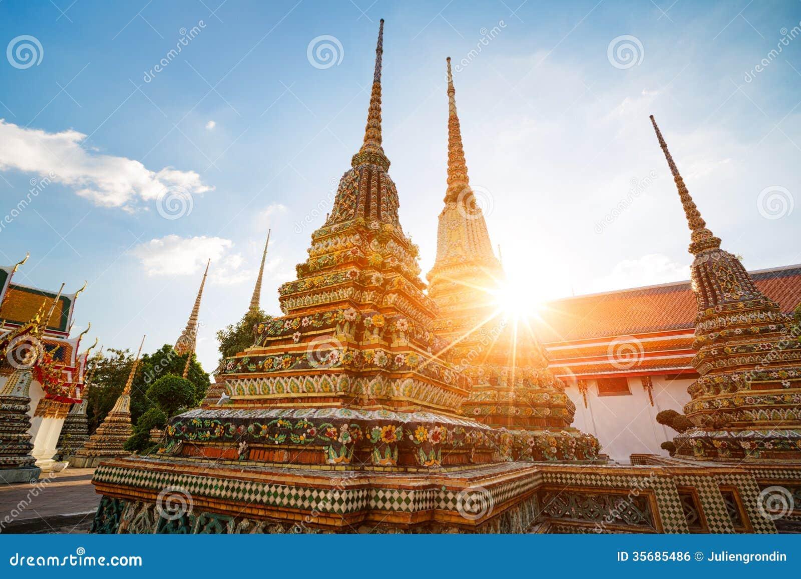Wat Pho en Bangkok, Tailandia