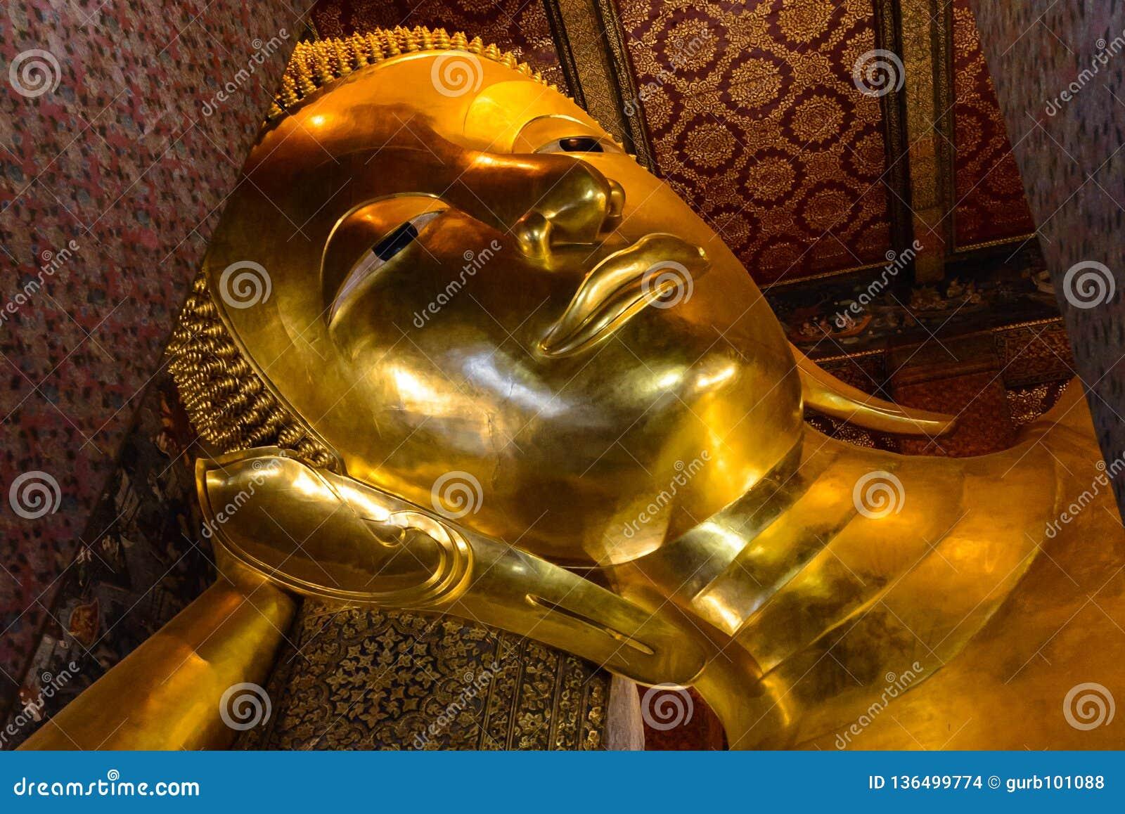 Wat Pho Temple av vilaBuddha i Bangkok, Thailand