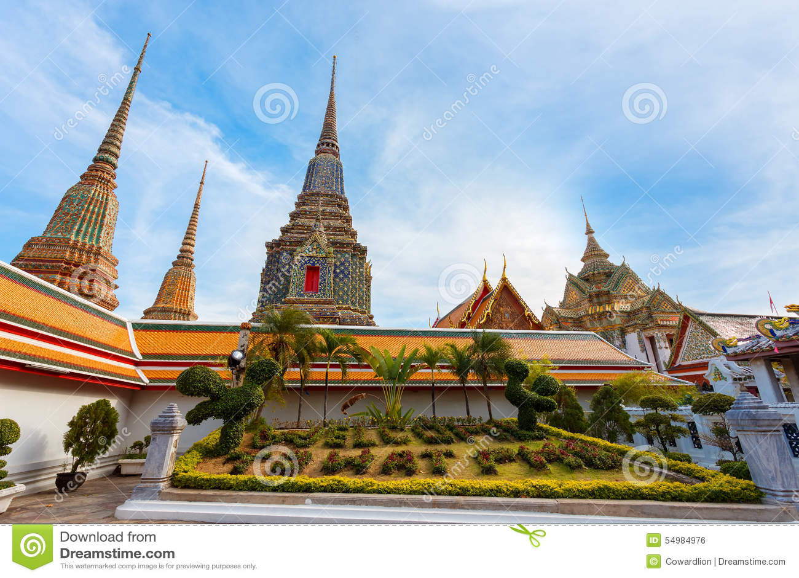Wat Pho w Bangkok (Pho świątynia)