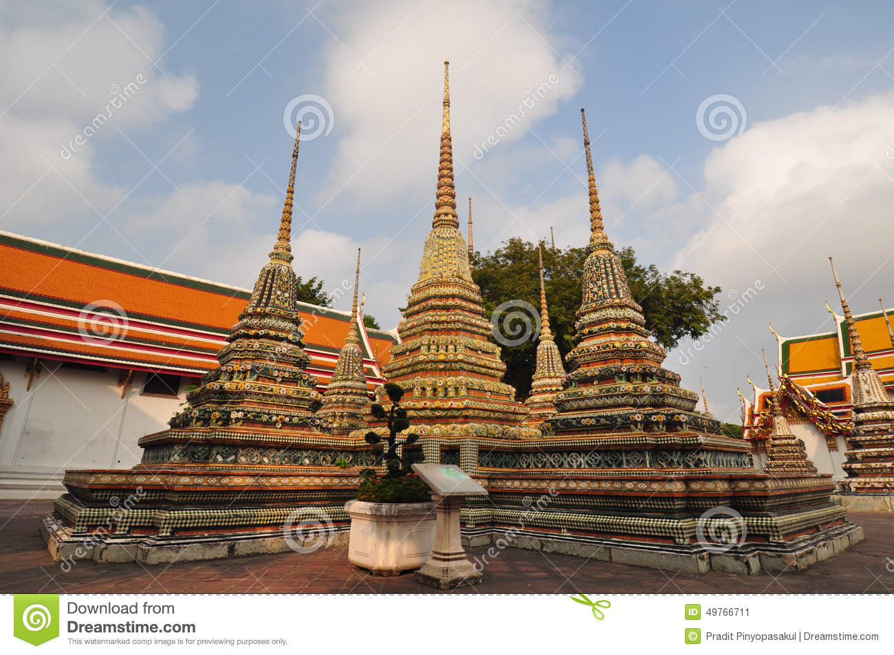 Royalty-Free Stock Photo & Wat Pho Or Wat Phra Chetuphonthe Temple Of The Reclining Buddha ... islam-shia.org