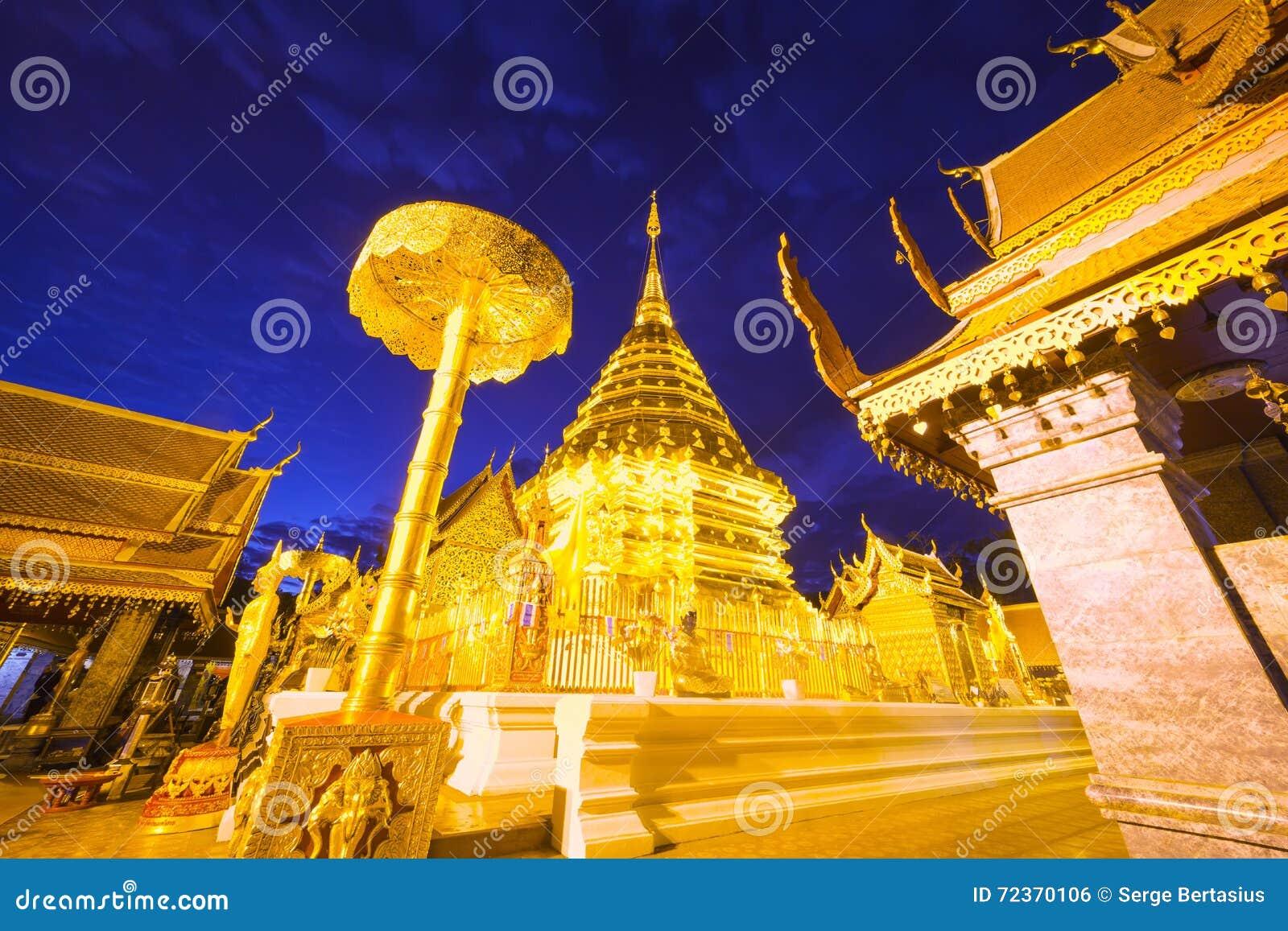 Wat Phra那个土井素贴寺庙