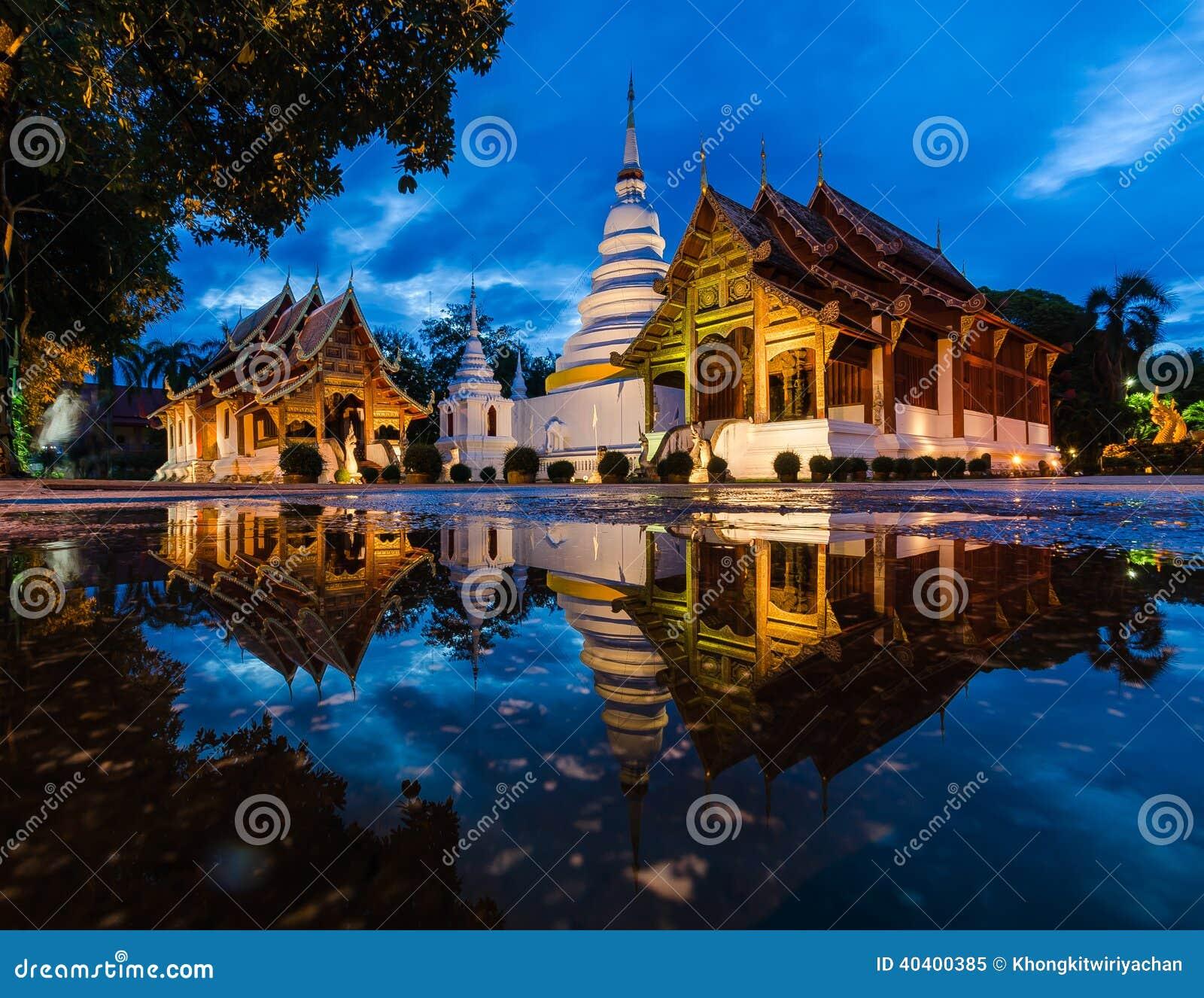 Wat Phra Śpiewa, Chiang Mai, Tajlandia
