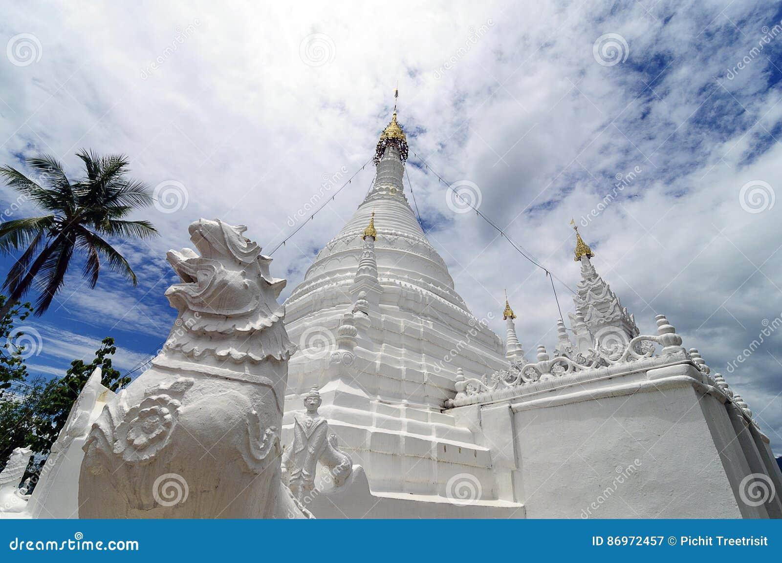 Wat Phra που Doi Kong MU, γιος της Mae Hong, βόρεια Ταϊλάνδη