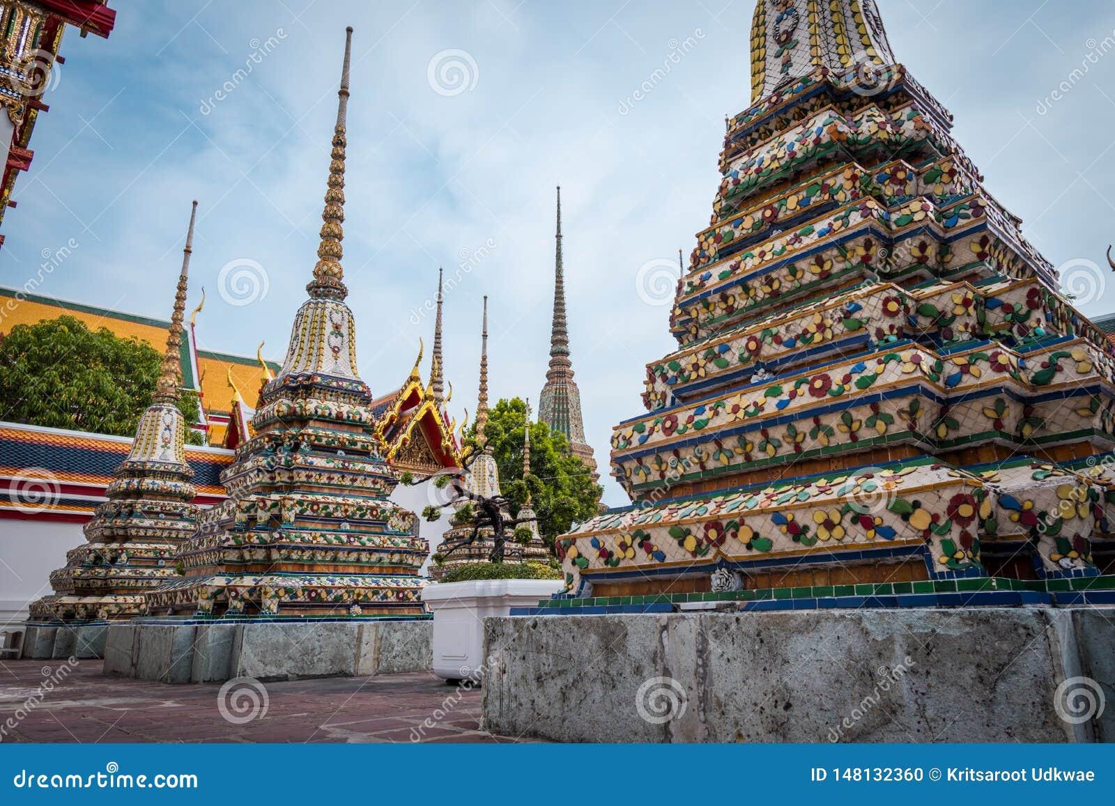 Wat Phra Chetuphon Wat Pho或Wat Phra Chetuphon Vimolmangklararm Rajwaramahaviharn