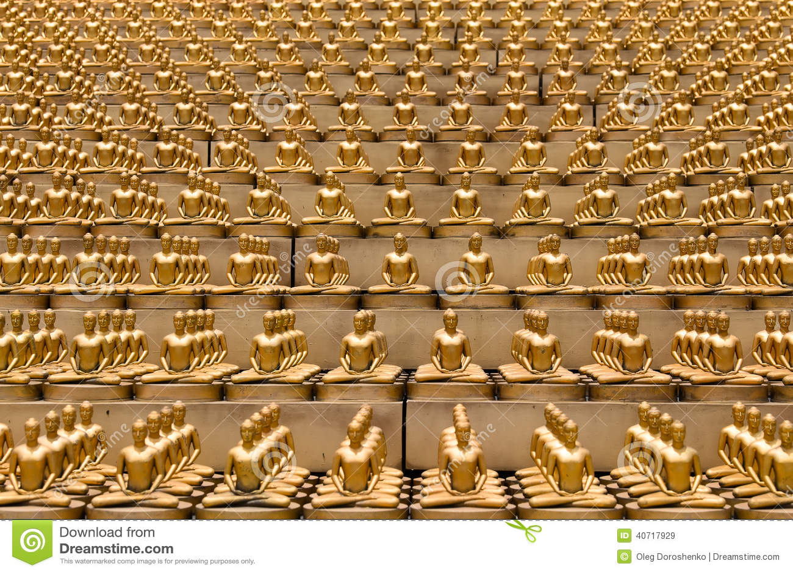 Wat Phra Dhammakaya Is A Buddhist Temple In Bangkok Thailand Stock