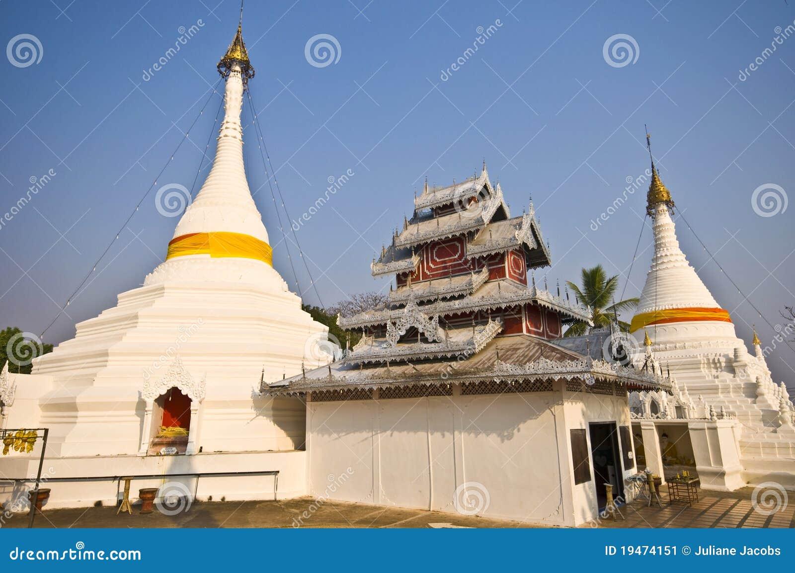 Wat Phra That Doi Kong Mu Stock Image - Image: 19474151