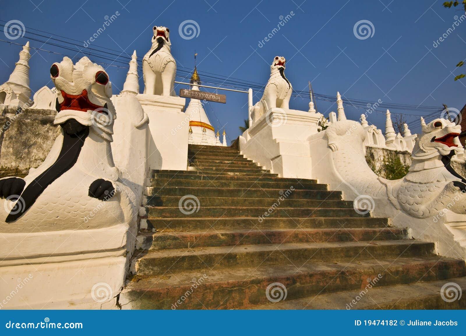 Wat Phra That Doi Kong Mu Stock Photography - Image: 19474182