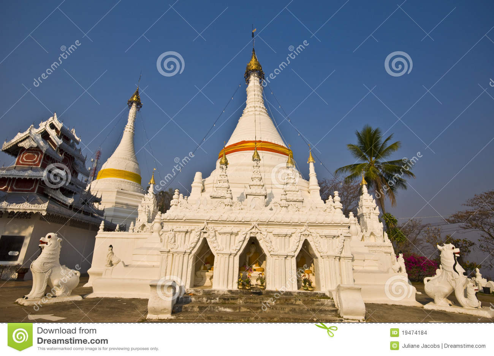 Wat Phra That Doi Kong Mu Stock Images - Image: 19474184