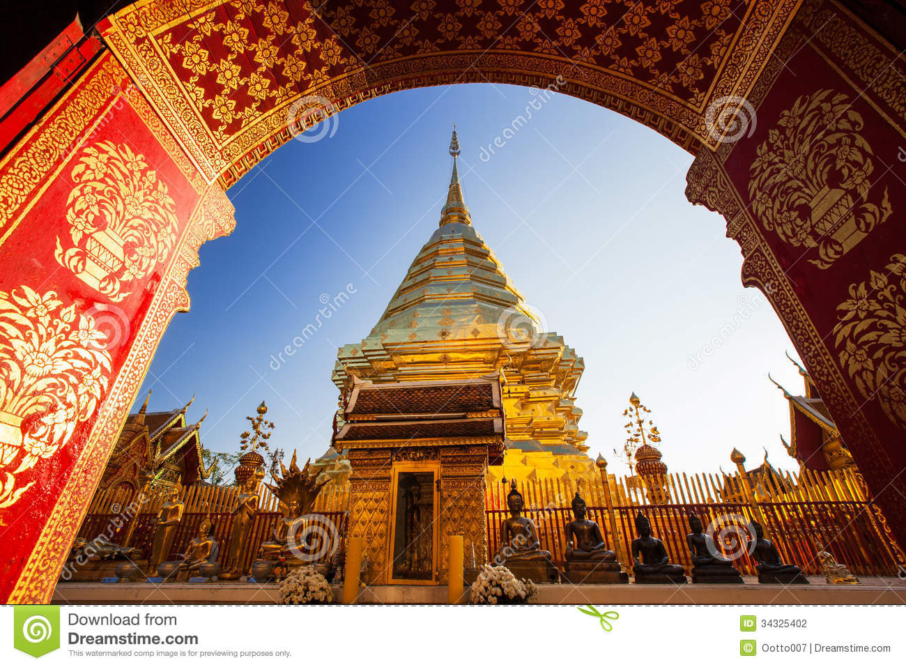 Wat Phra That Doi Suthep, Historical Temple In Thailand ...