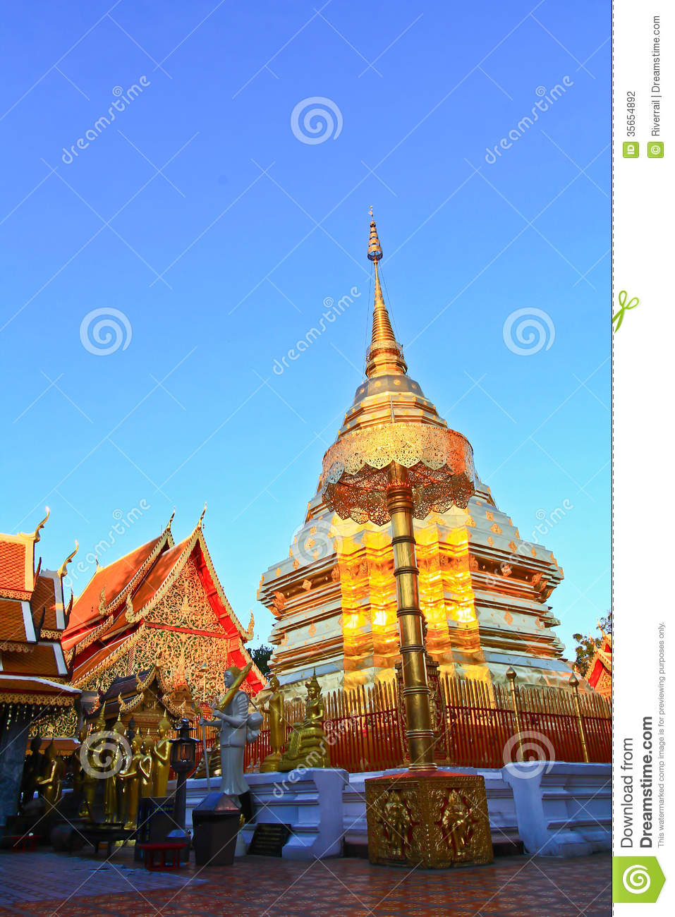 Wat Phra That Doi Suthep Stock Photography - Image: 35654892