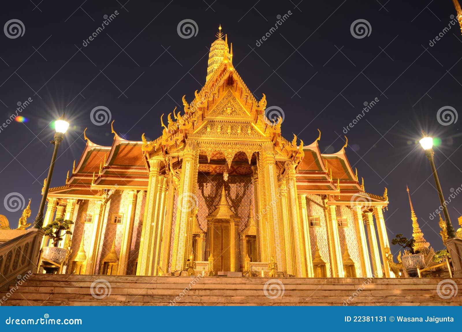 Wat Phra Kaew Stock Image - Image: 22381131