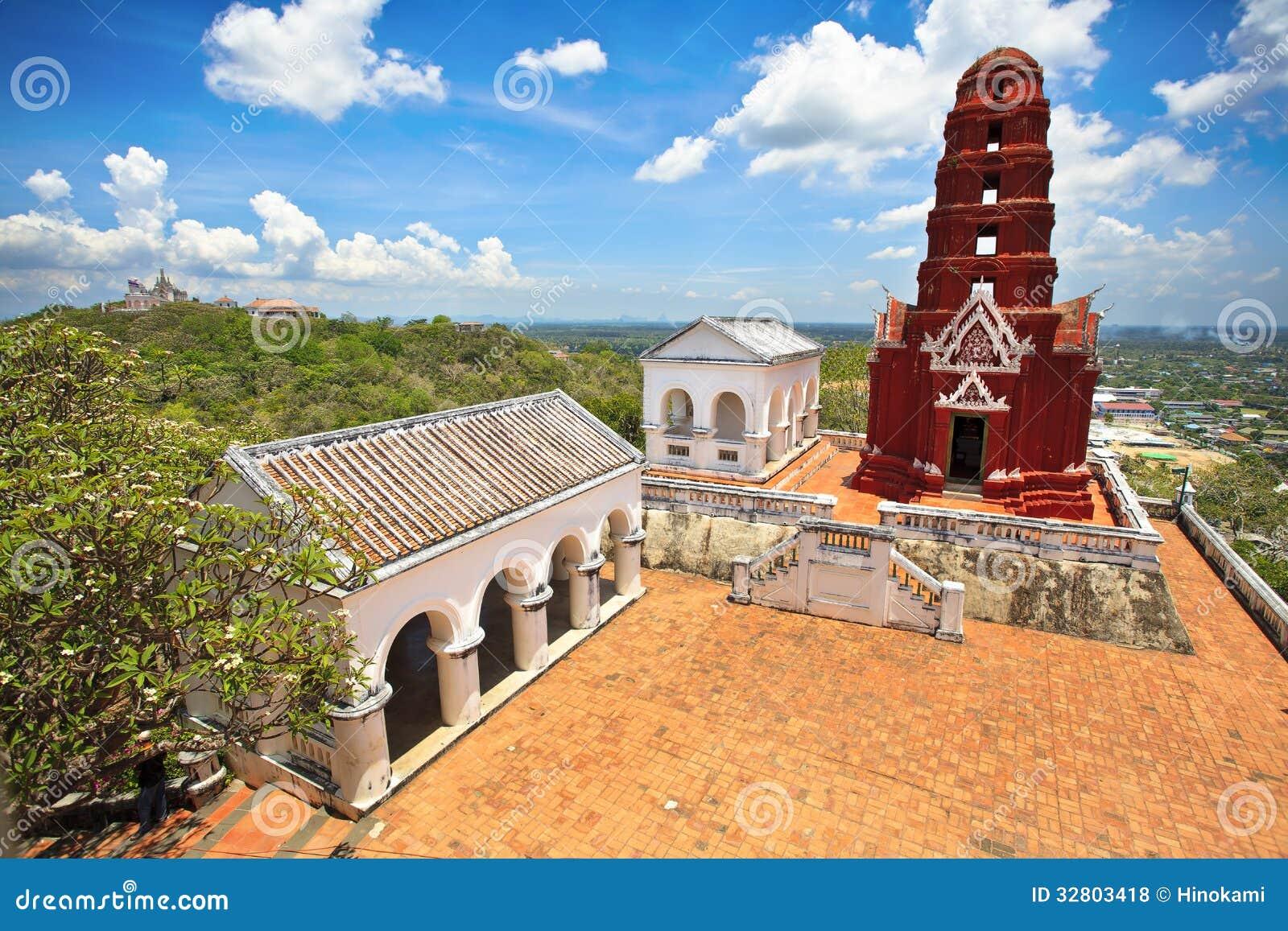 Wat Phra Kaew In Khao Wang Phra Nakhon Khiri Historical Park Royalty Free Sto...