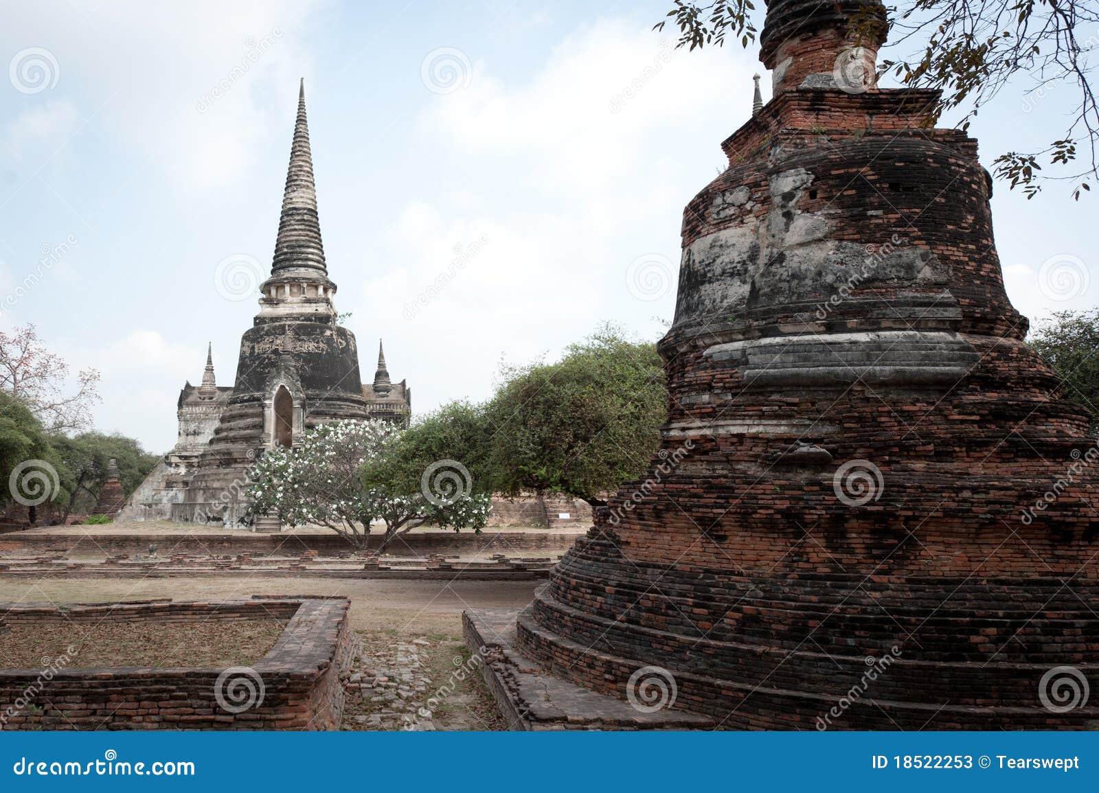 Wat Phra Si Sanphet Stock Photos - Image: 18522253