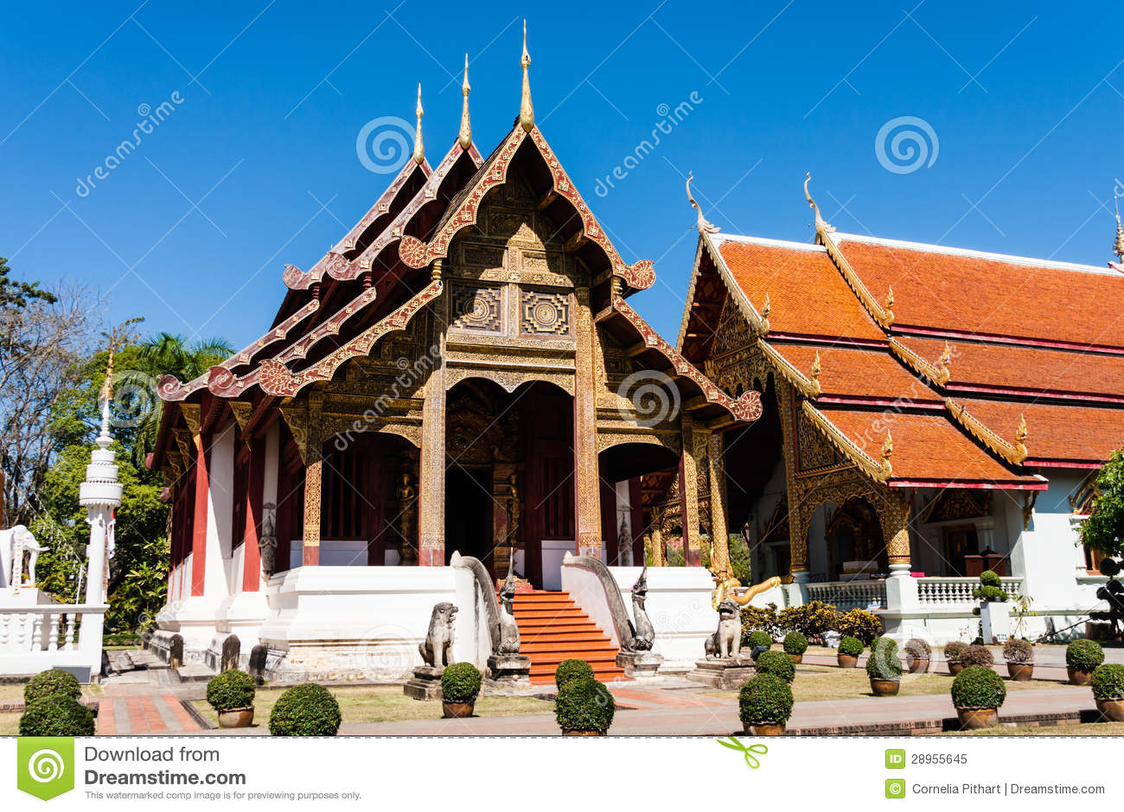 Wat Phra Singh, Chiang Mai, Tajlandia