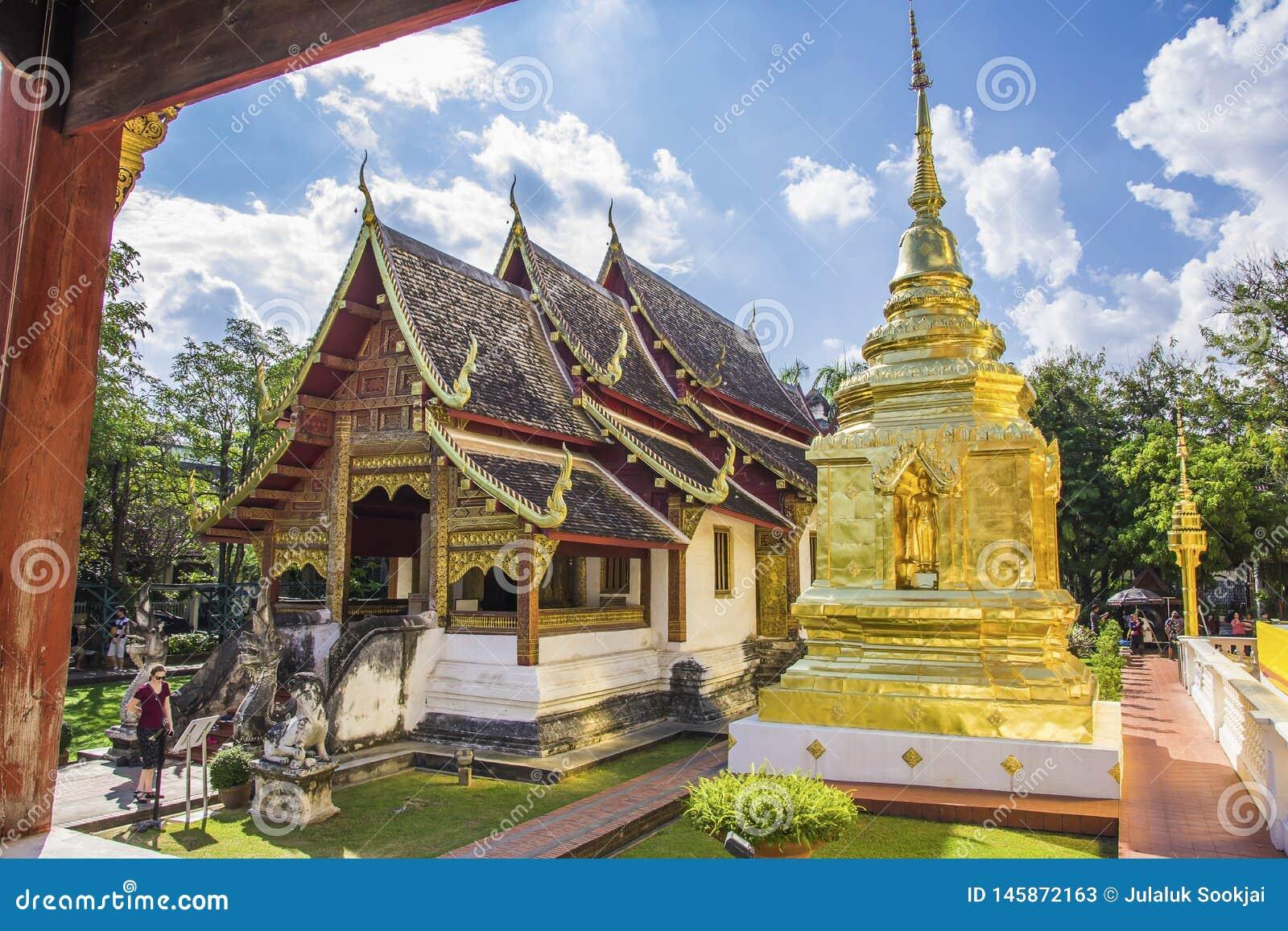 Wat Phra Singh Waramahavihan, Chiang Mai, Tailandia