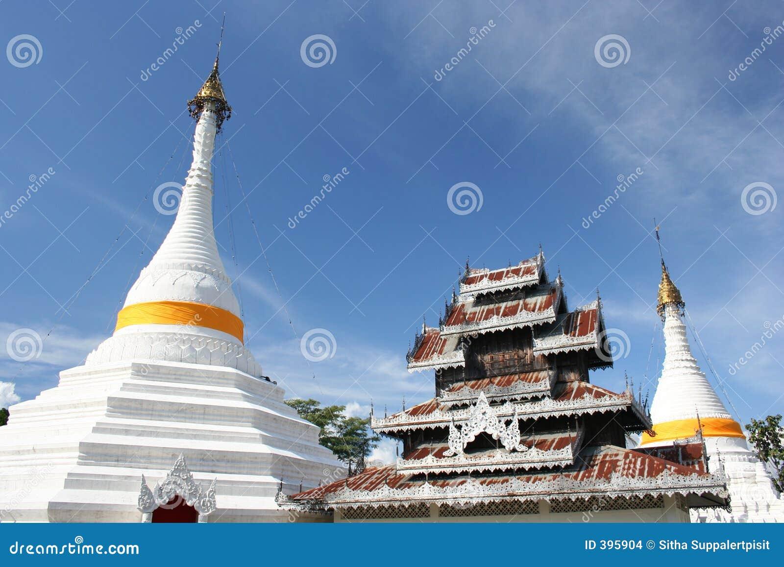 Wat Phrathat Doi Gongmoo, Mae Hong Son, Thaïlande