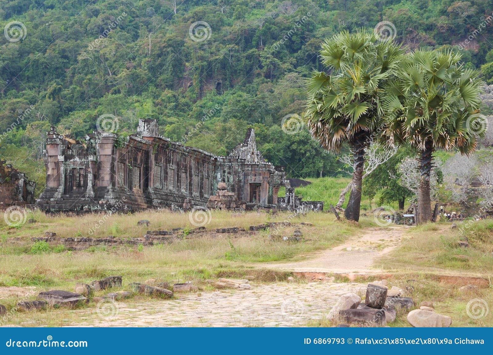 Wat phu Лаоса