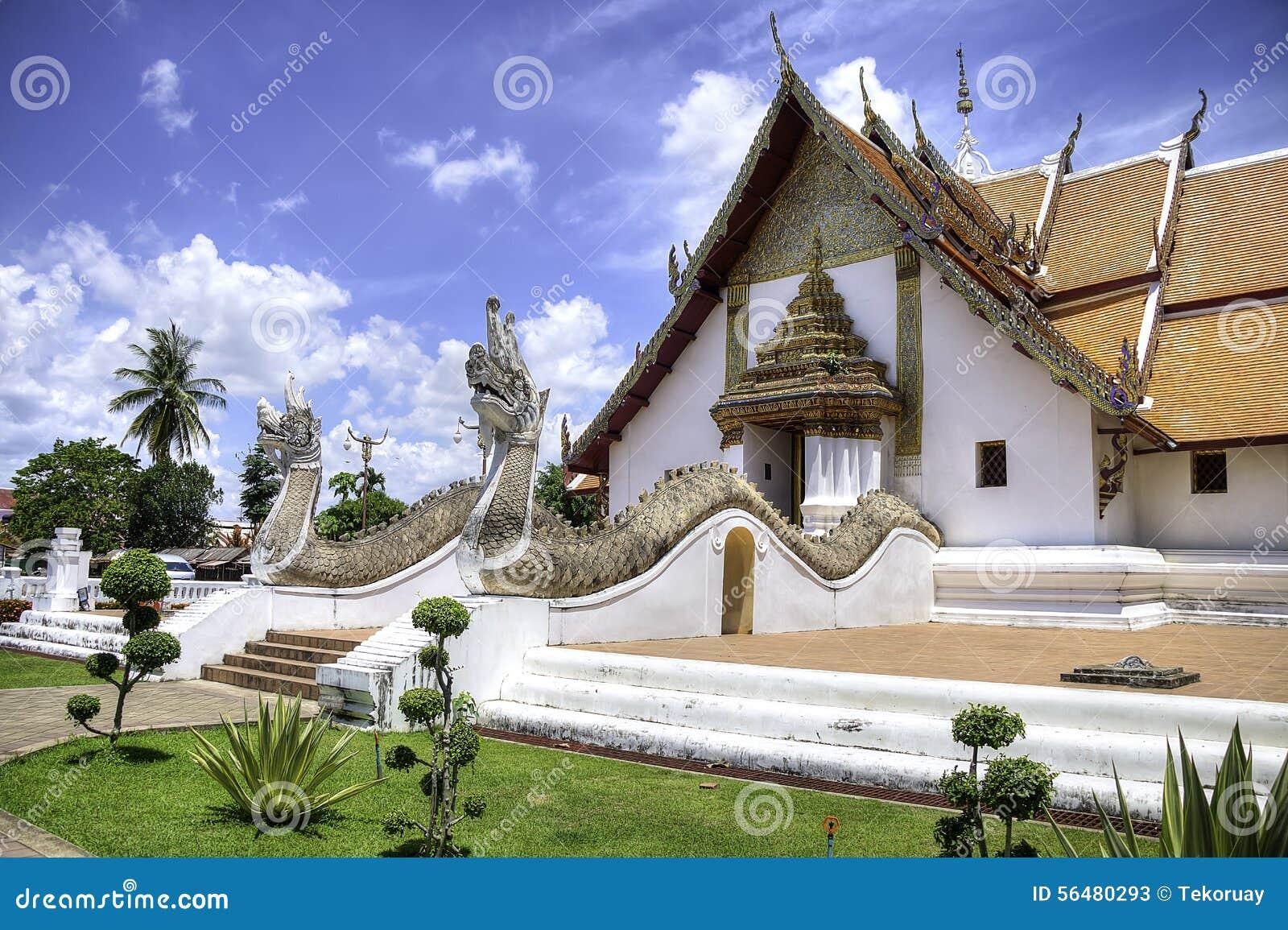 Wat Phumin dans la ville de Nan