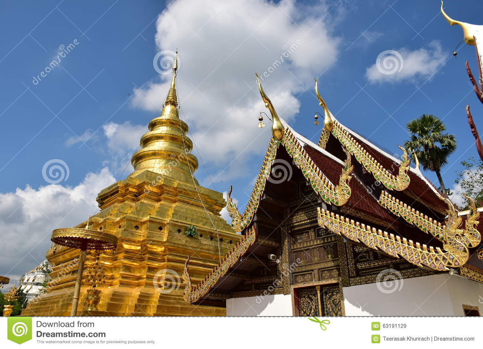 Chom Thong Thailand  city photo : Wat Pra That Sri Chom Thong, Chiangmai, Thailand.