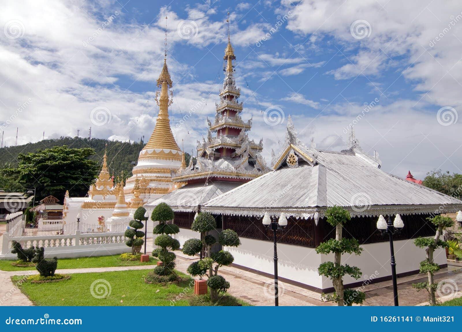 Wat Prathad Doi Gong Moo , Thailand.