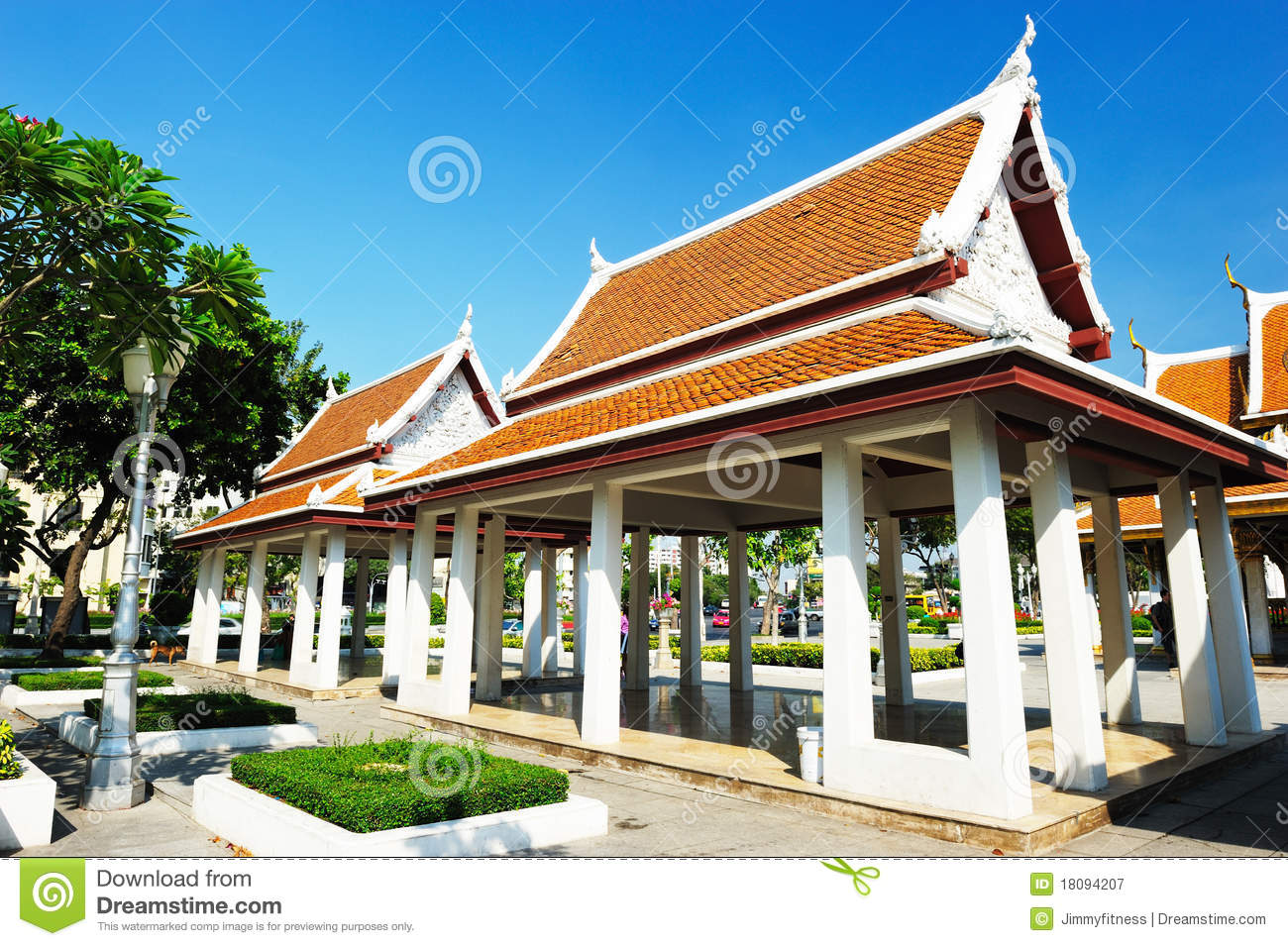 Wat Ratchanatdaram Temple Royalty Free Stock Photography ...