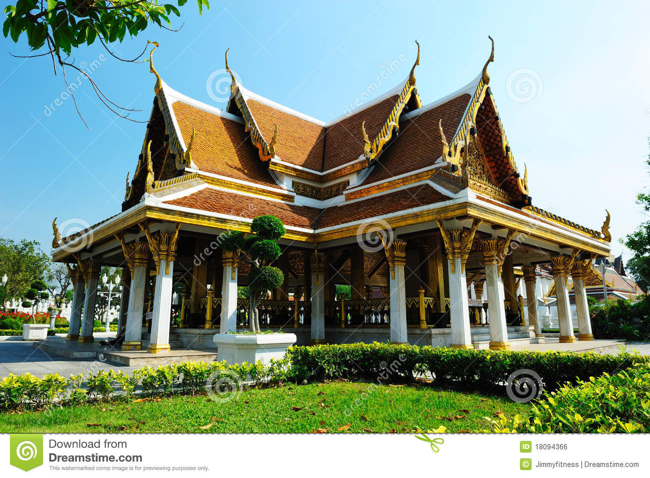 Wat Ratchanatdaram Temple Royalty Free Stock Image - Image ...