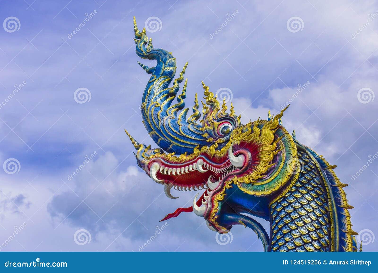 Wat Rong Khun-Tempel in Chiang Rai, Thailand in Asien